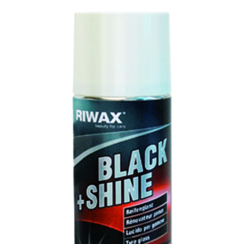 Black and shine renkaille