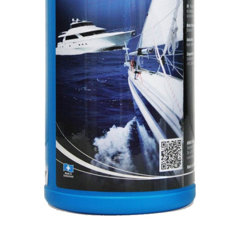 Wash and wax your boat in one operation