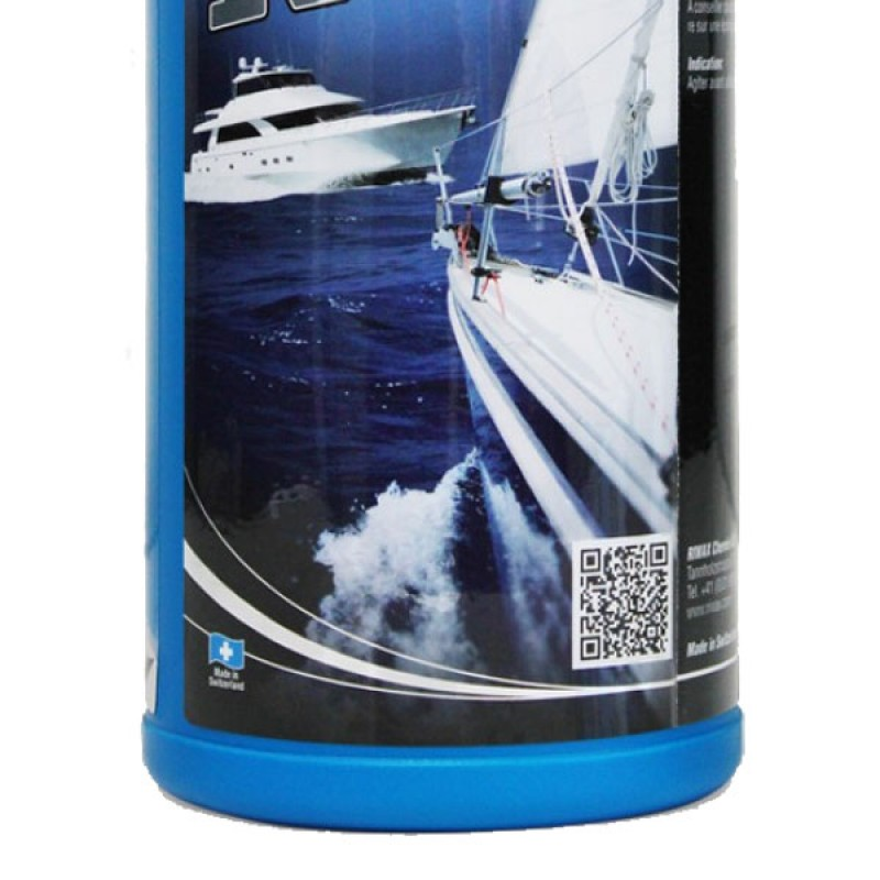 Marine gelcoat polishing paste