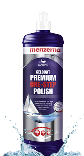 Gelcoat one-step polish